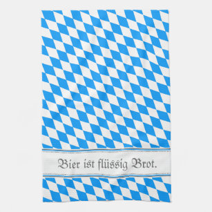 Bavarian samples hand towel
