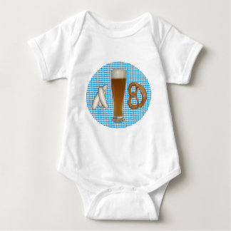 Bavarian snack baby bodysuit