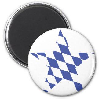 bavarian star icon magnet