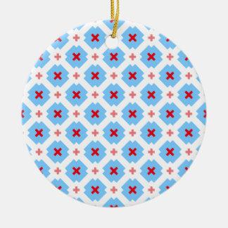 Bavarian subtly ceramic ornament
