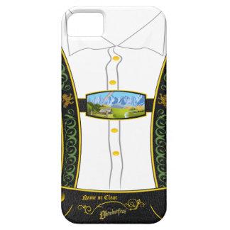 Bavarian tradicional Lederhose de Alemania iPhone 5 Case-Mate Cárcasa