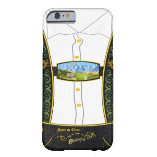 Bavarian tradicional Lederhose de Alemania Funda Para iPhone 6 Barely There