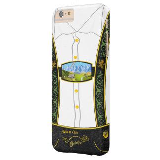 Bavarian tradicional Lederhose de Alemania Funda Para iPhone 6 Plus Barely There