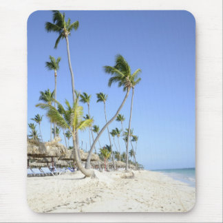 bavaro Beach on the island of Punta Cana Mouse Pad