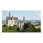 Baviera Alemania de Neuschwanstein del castillo Tarjeta De Visita