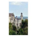 Baviera Alemania de Neuschwanstein del castillo Plantilla De Tarjeta Personal