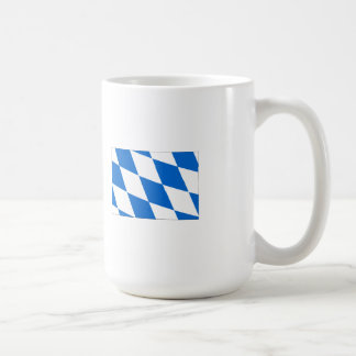 Baviera bandera tazas