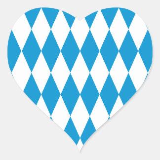Baviera Bavaria fiesta de la cerveza Pegatina En Forma De Corazón