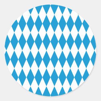 Baviera Bavaria fiesta de la cerveza Pegatina Redonda