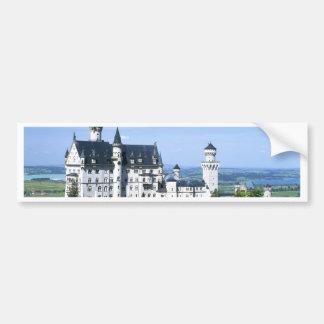 Baviera del castillo de Neuschwanstein Pegatina Para Auto