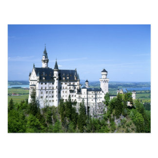 Baviera del castillo de Neuschwanstein Postales