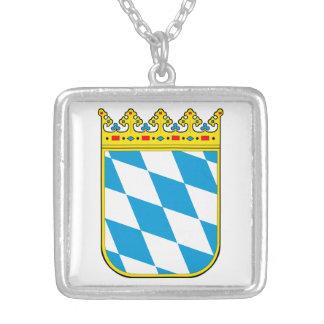 Baviera escudo de armas colgante cuadrado