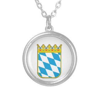 Baviera escudo de armas colgante redondo