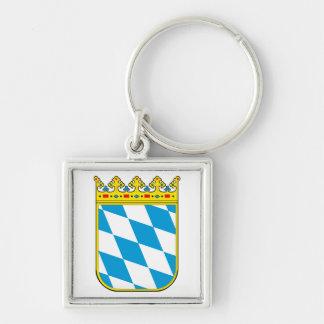 Baviera escudo de armas llavero personalizado