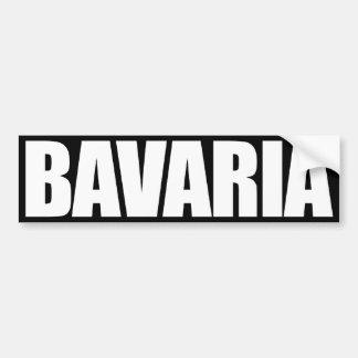 Baviera Pegatina Para Auto