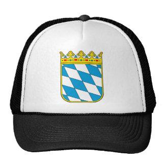 Baviera poco escudo de armas gorros bordados
