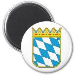 Baviera poco escudo de armas imán para frigorifico