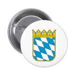 Baviera poco escudo de armas pin redondo 5 cm