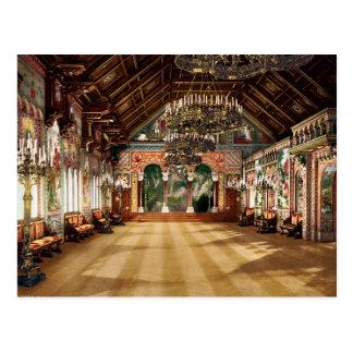 Baviera superior Alemania del castillo de Neuschwa Postal