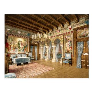 Baviera superior Alemania del castillo de Neuschwa Tarjeta Postal
