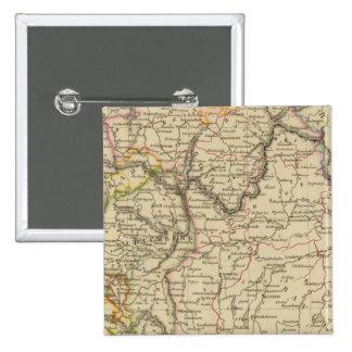 Baviera, W�rttemberg y Baden GR Pin Cuadrada 5 Cm