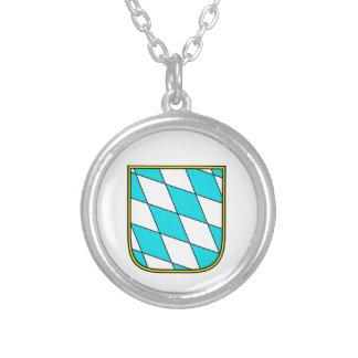 Baviera Wappenzeichen Colgante Redondo