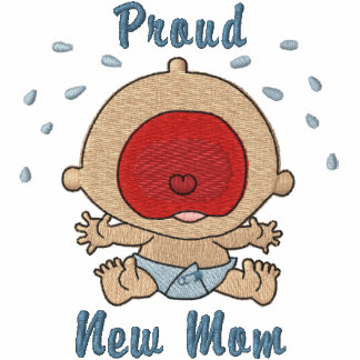 Bawling Baby - boy Embroidered Hooded Sweatshirt