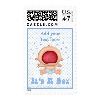 Bawling Baby - It's a Boy Postage