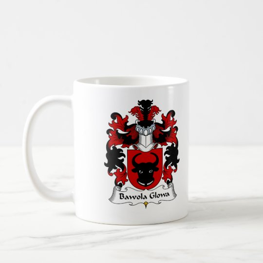 Bawola Glowa Family Crest Coffee Mug