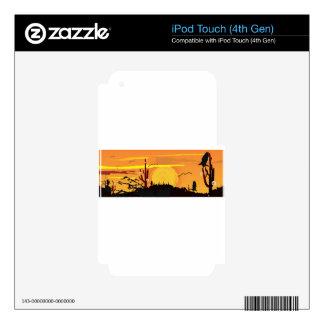 Baxk Calcomanía Para iPod Touch 4G