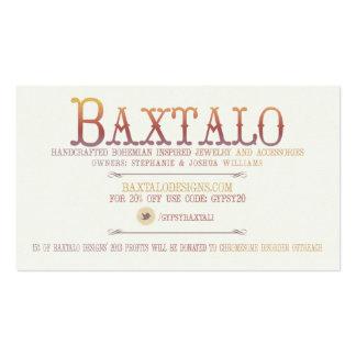 Baxtalo Design Business Card