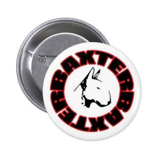 Baxter Baxter white button / Badge blanc