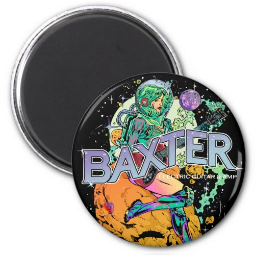 Baxter Cosmonaut Fridge Magnet
