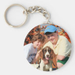 Baxter - English Springer Spaniel Photo-03 Key Chain
