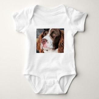 Baxter - English Springer Spaniel Photo-06 Baby Bodysuit
