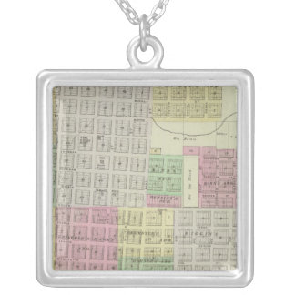 Baxter Springs, Cherokee County, Kansas Silver Plated Necklace
