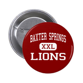 Baxter Springs - leones - centro - Baxter Springs Pins
