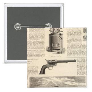 Baxter Steam Engine Company Button