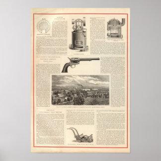Baxter Steam Engine Company Print