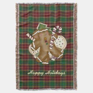 Baxter Tartan Holiday Plaid Blanket Throw Blanket