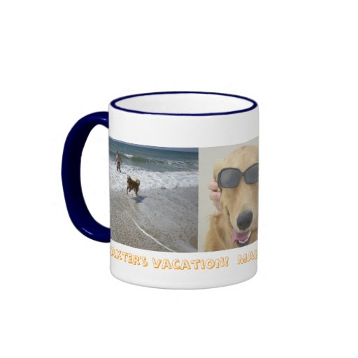 Baxters vacation ringer mug