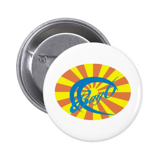 Bay6 Surf Pinback Buttons