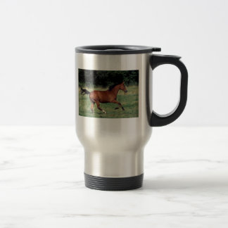 bay (2) 15 oz stainless steel travel mug