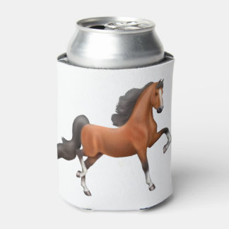 Bay American Saddlebred Horse Can Cooler