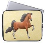 Bay American Saddlebred Horse Electronics Bag Laptop Sleeves