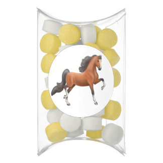 Bay American Saddlebred Horse Gum Party Favors