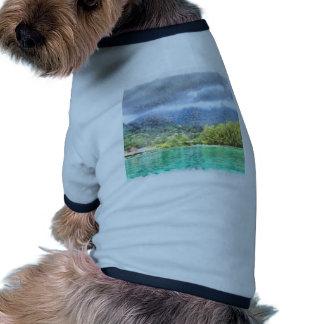 Bay and greenery pet tshirt