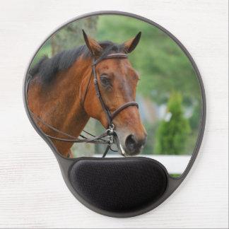 Bay Arab Horse Gel Mouse Pad