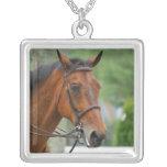 Bay Arab Horse Necklace