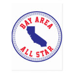 Bay Area All Star Post Card